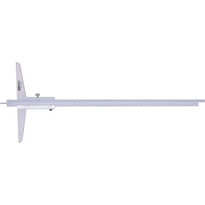 KS Tools Tiefenmessschieber m.Messstift, 0-300mm 300.0554