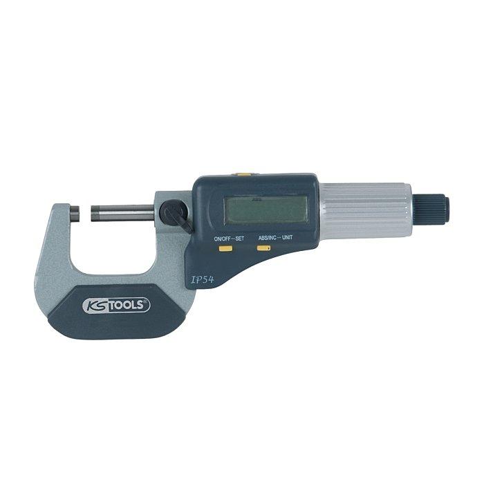 KS Tools Bügelmessschraube Digital, 50-75mm 300.0582