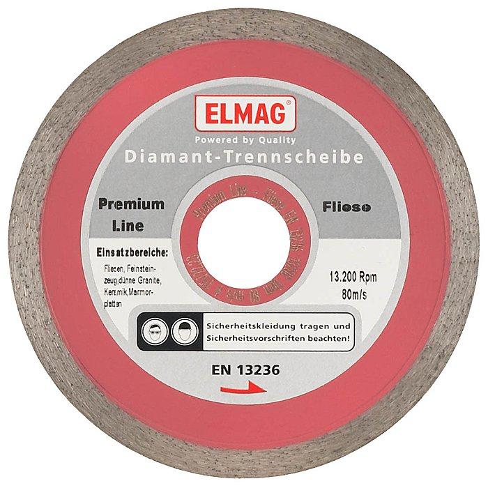 ELMAG Diamantscheibe 180 mm 61513