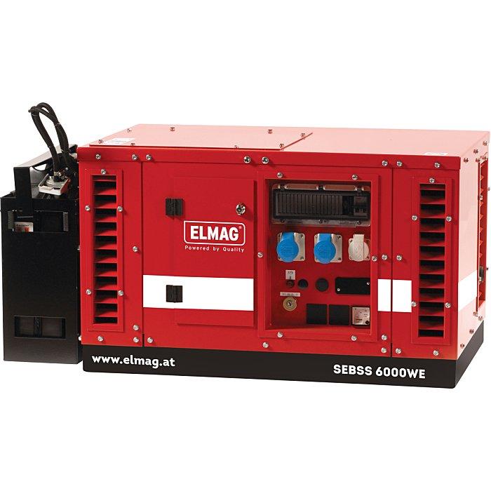 ELMAG Stromerzeuger SEBSS 6000WE-AVR-DSE3110 53143