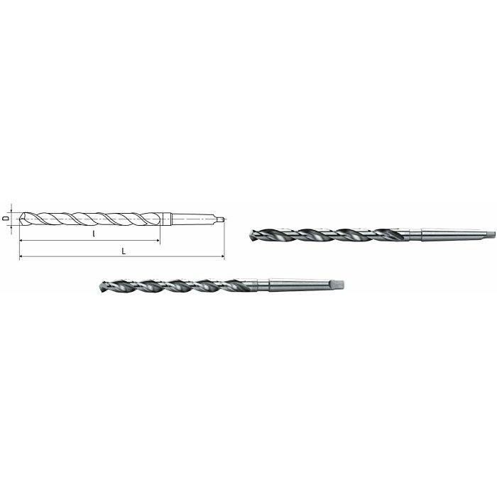 ELMAG HSS Co5-Spiralbohrer mit Morsekegel DIN 1870 72300