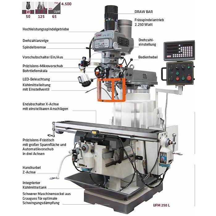 ELMAG Universal-Fräsmaschine 82161