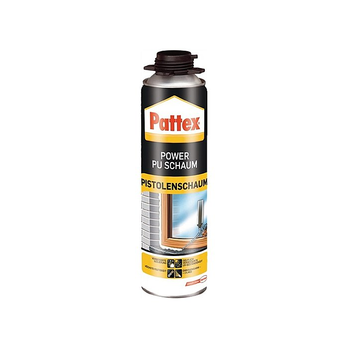 LOCTITE Pattex Power PU-Pistolenschaum 500 ml MDI-Reduziert weiss B2 PUS50