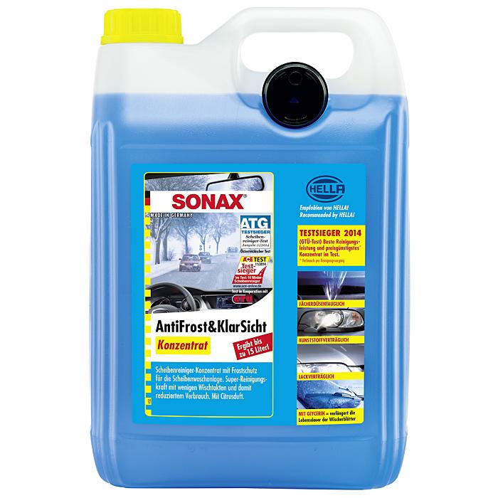 Sonax AntiFrost & KlarSicht Konzentrat 5 Liter 03325050