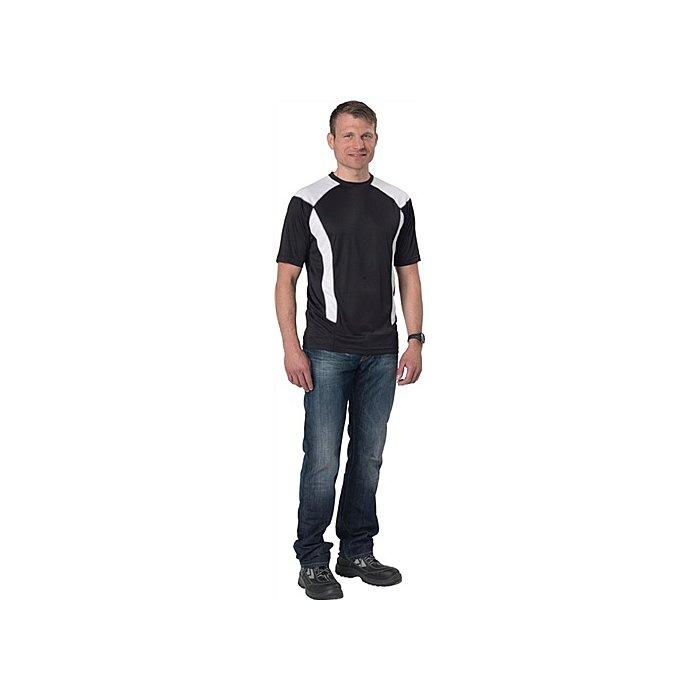 FRISTADS KANSAS Herren Cool Dry T-Shirt Gr.M schwarz 100246-940-M