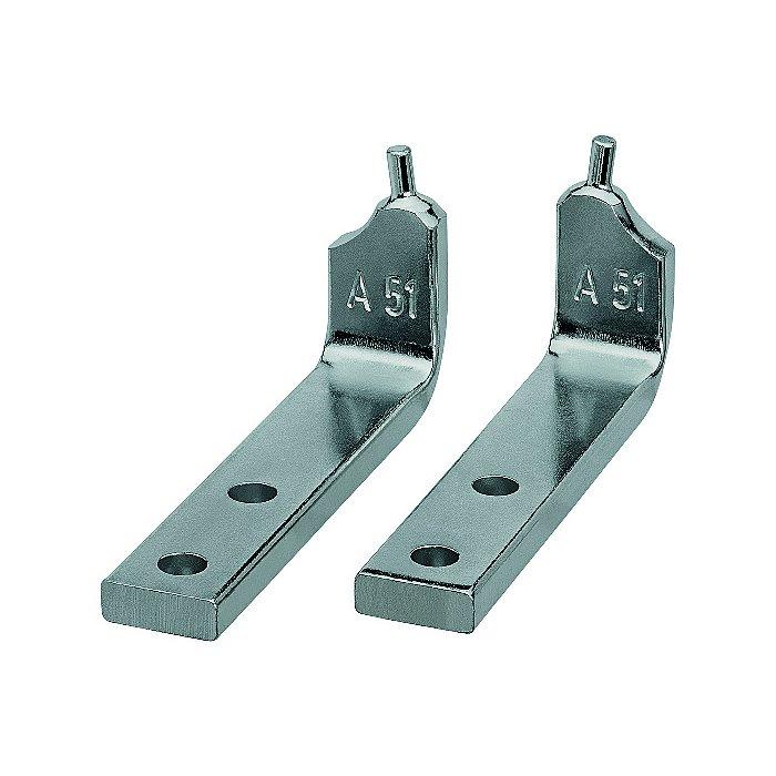 Knipex 1 par de puntas de recambio para 46 20 A51 46 29 A51