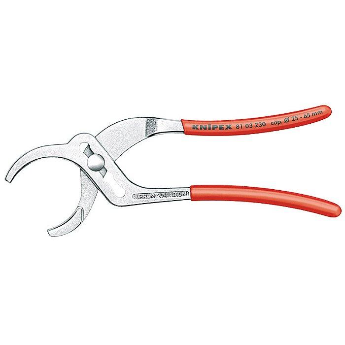 Knipex Tenaza para tuberías cromado 230mm 81 03 230