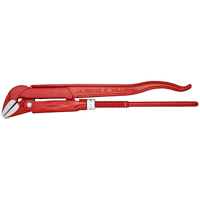 Knipex Llave para tubos de bocas a 45° lacado al polvo, rojo 430mm 83 20 015