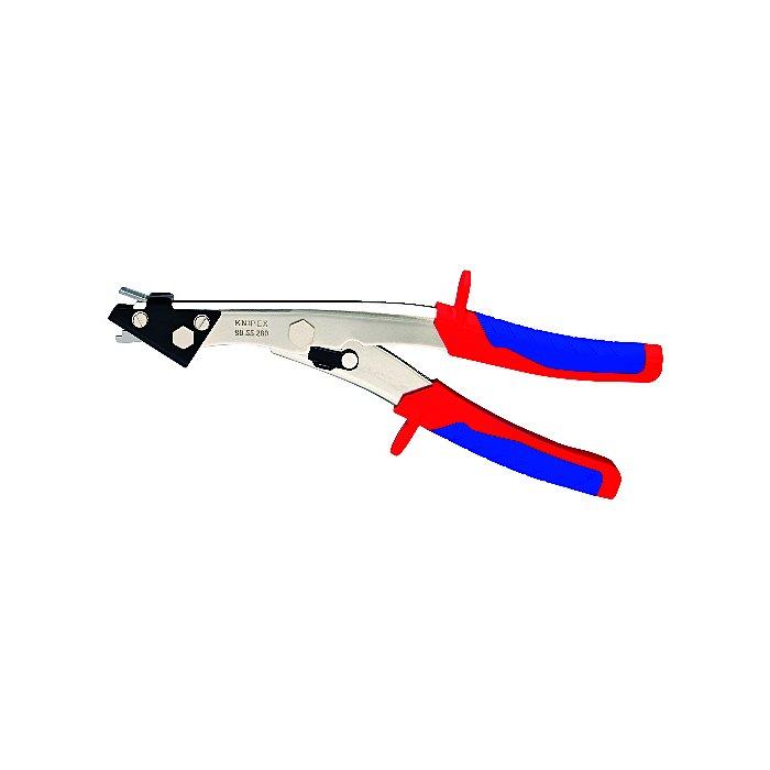 Knipex Cizalla para chapa con fundas en dos componentes 280mm 90 55 280