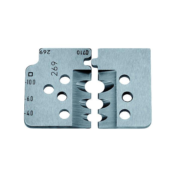 Knipex 1 juego de cuchillas de recambio para 12 12 12 12 19 12