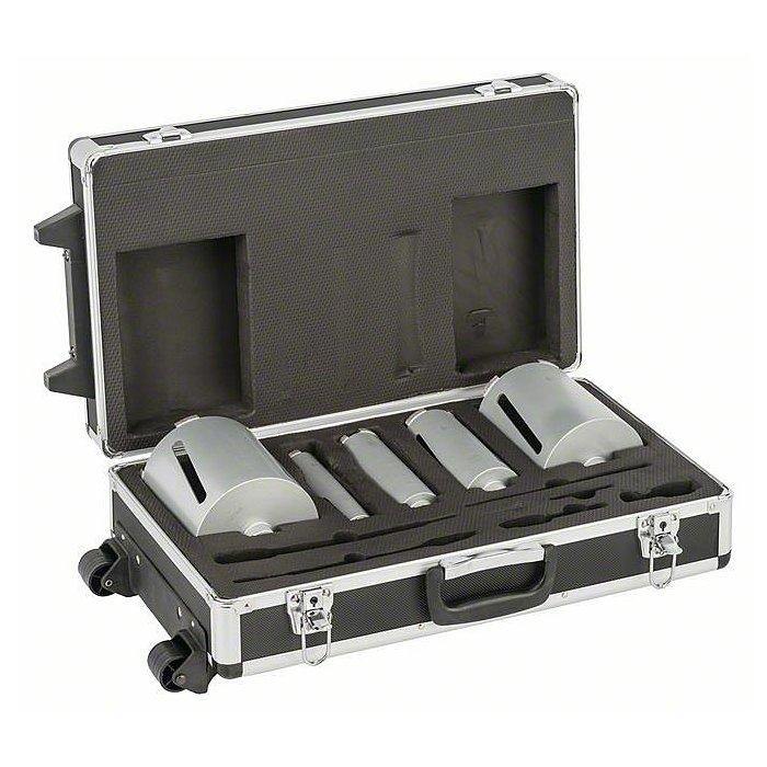 Bosch Diamanttrockenbohrkronen-Set G 1/2Zoll, 5-teilig, 38/52/65/117/127mm, 150mm, 7mm 2608587007