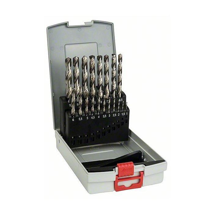 Bosch Metallbohrer-Set HSS-G, ProBox, 19-teilig, DIN 338, 135° 1-10 mm 2608587013