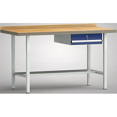 KLW Standard-Werkbank - 1500 x 700 x 900 mm L x T x H (ERGO-Version) WS003E-1500M40-E7002