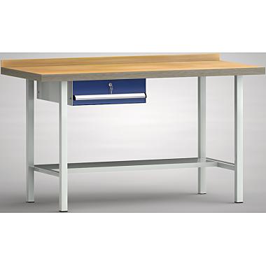KLW Standard-Werkbank - 1500 x 700 x 900 mm L x T x H, (ERGO-Version) WS003E-1500M40-E7001