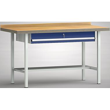KLW Standard-Werkbank - 1500 x 700 x 900 mm L x T x H (ERGO-Version) WS003E-1500M40-E0001