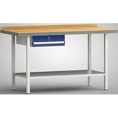 KLW Standard-Werkbank - 1500 x 700 x 900 mm L x T x H, (ERGO-Version) WS005E-1500M40-E7001