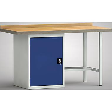KLW Standard-Werkbank - 1500 x 700 x 900 mm L x T x H, (ERGO-Version) WS184E-1500M40-X7020