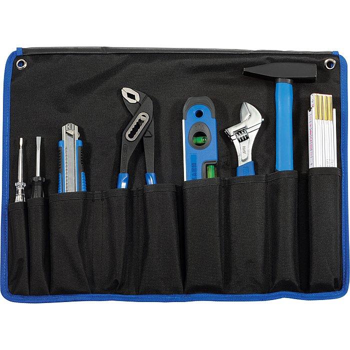 Heyco Haushalts-Werkzeugtasche, 8-teilig, 480 x 365 x 30 mm 50890300300