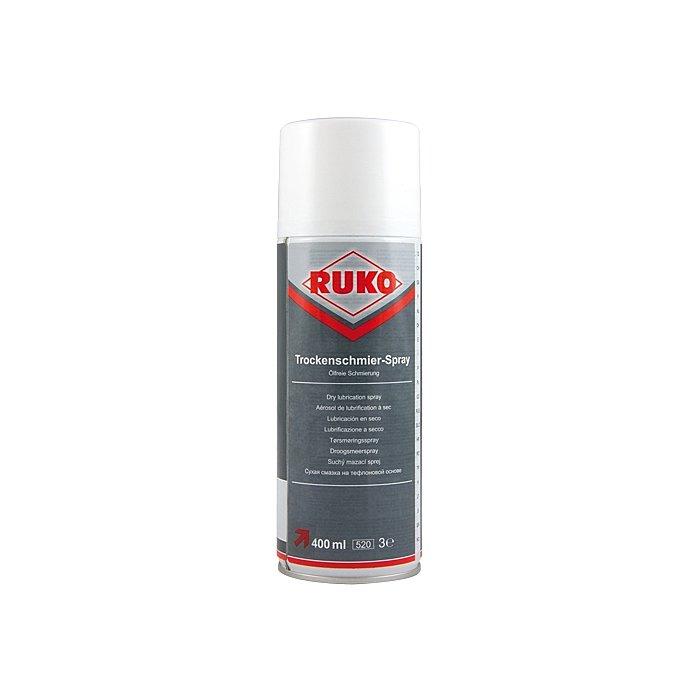 Ruko Barattolo spray lubrificazione a secco PTFE, 400 ml 100108