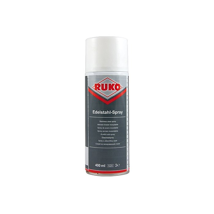 Ruko Barattolo spray acciaio inossidabile, 400 ml 100109