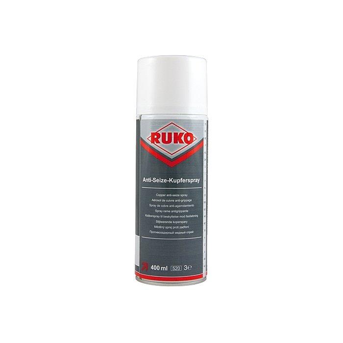 Ruko Barattolo spray rame antigrippante, 400 ml 100116