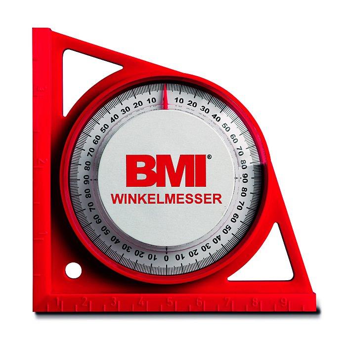 BMI Winkelmesser R O T auf SB-karte 789500