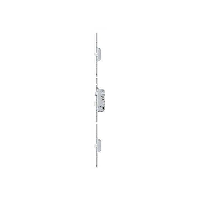 BKS Sicherheitstürverschl.Secury MR 2 Dorn 65mm Enf.92mm Stulp-B.20mm flach PZ gel. 6-31537-03-0-1
