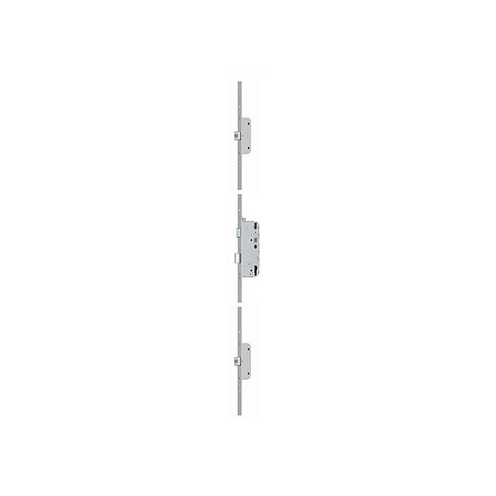 BKS Sicherheitstürverschluss Secury Automatic Dorn 65mm Entf.92mm Stulp-B.20mm flach 6-28486-CE-0-1