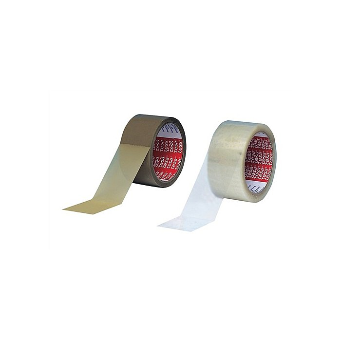 Tesa Verpackungsklebeband 4280 Länge 66m Breite 50mm transparent PP-Folie tesa 04280-00045-00