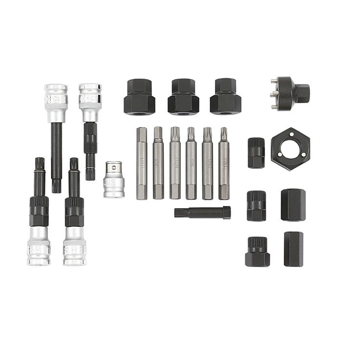 Sonic Lichtmaschinen-Set im Koffer, 22-teilig 817005