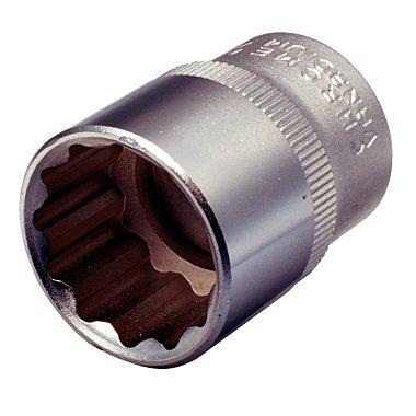 """KS Tools 1/2"""" 12-kant-Stecknuss, 16mm 911.1576"""
