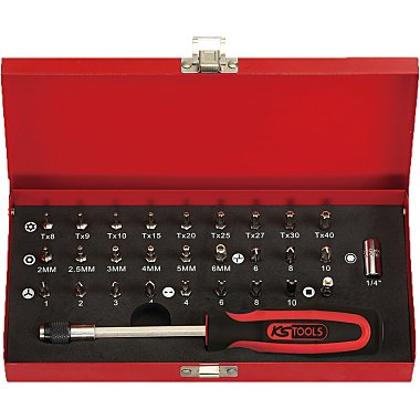 """KS Tools 1/4"""" Bit-Satz, 29-tlg. 911.2029"""