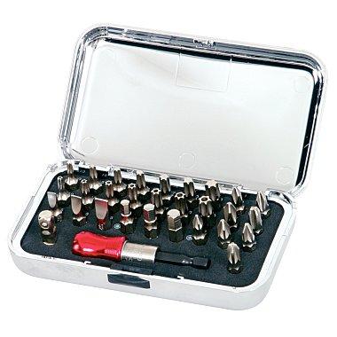 """KS Tools 1/4"""" CHROME+ Bit-Satz, 30-tlg. 911.2070"""