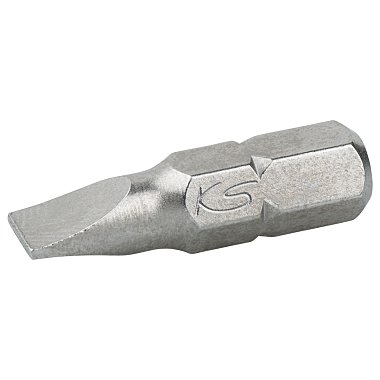 """KS Tools 1/4"""" Bit Schlitz, 25mm, 6mm 911.2246"""