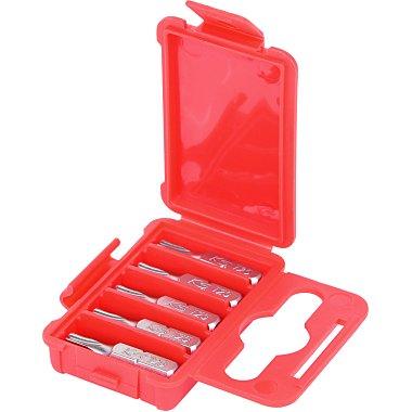 """KS Tools 1/4"""" Bit TX, 25mm, T25, 5er Pack 911.2322"""
