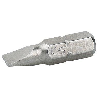 """KS Tools 1/4"""" Schlitz-Bit  5mm, 25mm, S2 Form """"C"""" 911.2392"""