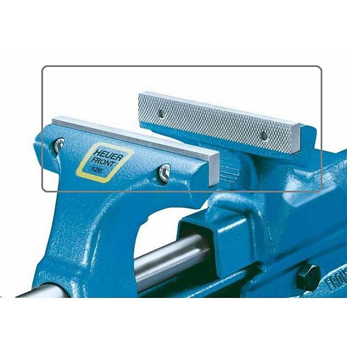 HEUER udskiftelige kæber til skruestik 120mm 116120
