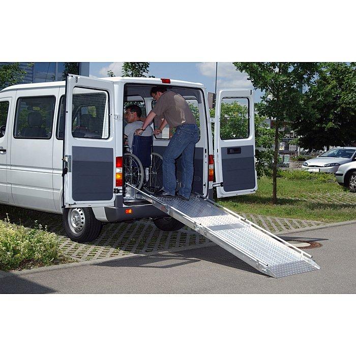 ALTEC Rollstuhl Auffahrhilfen, L: 1800 mm x B: 1000 mm x H: 980 mm, RLK 084.00.017
