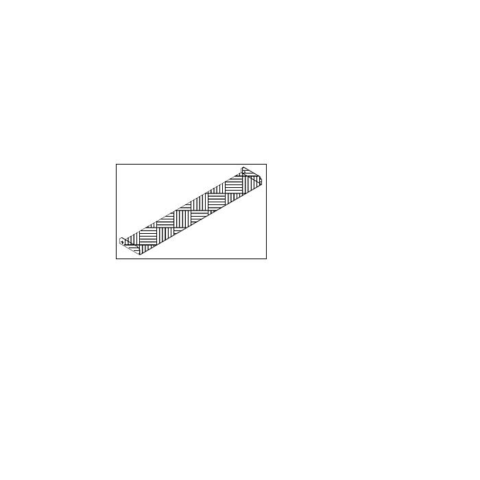 ALTEC RLS Zunge, inkl. Montagematerial, L: 200 mm x B: 1000 RLS + 1114 Blech mm, RLS - Reha Laufsteg 081.40.411