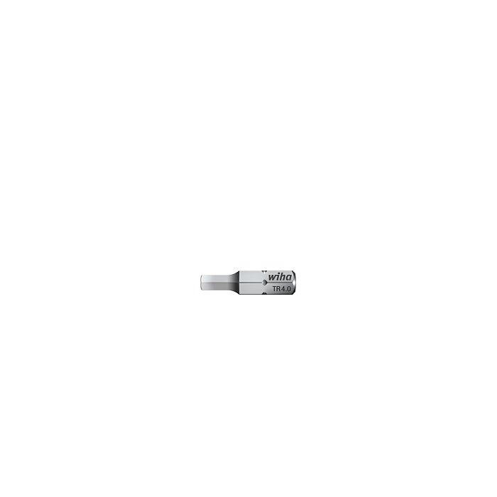 Wiha Bit standard 25 mm Sekskant med boring 1/4 (30050) TR3/16 mm 7013TRZ316