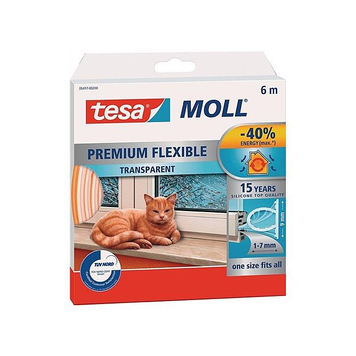 Tesamoll Premium transparent 6m:9mm:7mm 05417-00200-00