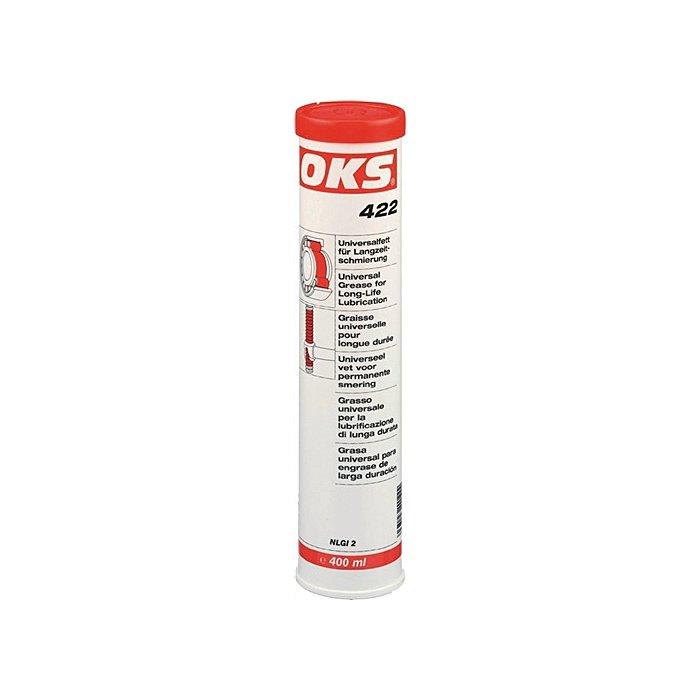 OKS Universalfett für Langzeitschmierung 400ml OKS 422 Kartusche-40 bis +180 Grad 1136720418