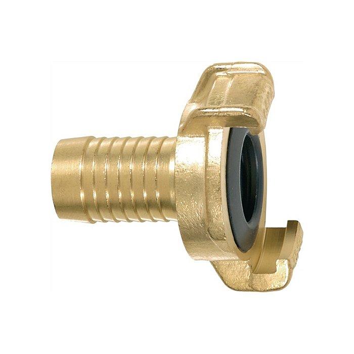 GEKA Schlauchstück GEKA 1Zoll W.40mm a.Ms. KARASTO 40104