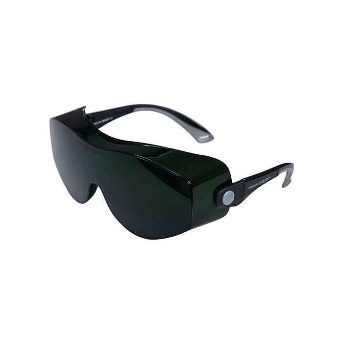 Ekastu Schweisserbrille Carina Klein Rahmen schwarz Gläser IR 4-5.0 grün getönt 277399