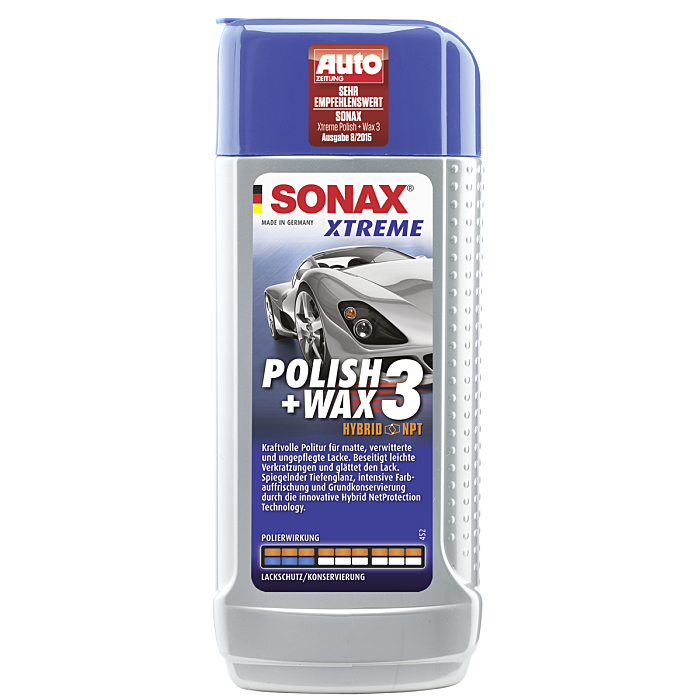 Sonax Xtreme Polish & Wax 3 Hybrid NPT 250 ml 02021000