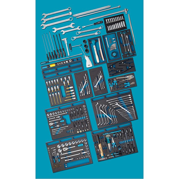 HAZET MERCEDES-BENZ Werkzeug-Sortiment - Anzahl Werkzeuge: 296 0-2700-163/296