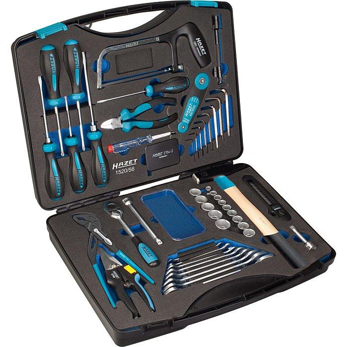 HAZET Werkzeug-Koffer - Anzahl Werkzeuge: 56 1520/56