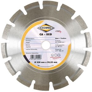 Cedima 115mm CA-ECO 22,23mm 2,1 x 10 x 32mm 10000033