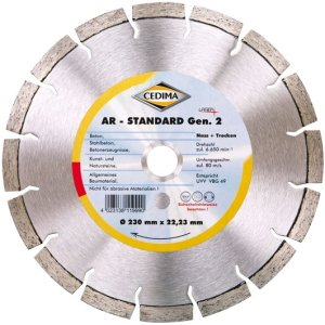 Cedima 150mm AR-Standard Generation 2 22,23mm 2,4 x 10 x 32mm 10004391