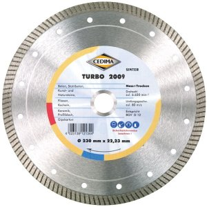 Cedima 180mm Turbo 2009 25,4, 22,23mm 1,6 x 10mm mit Ring 10004037